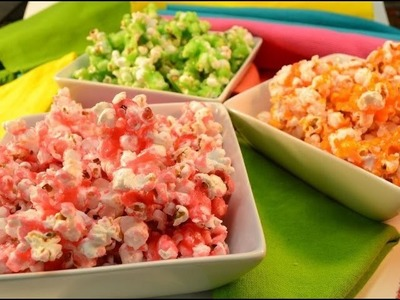 How to Make Fruit-Flavored Rainbow Popcorn | RadaCutlery.com