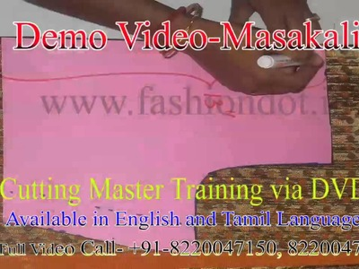 Masakali pattern making and sewing Method