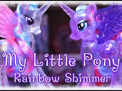 My Little Pony Rainbow Shimmer Princess Luna & Celestia