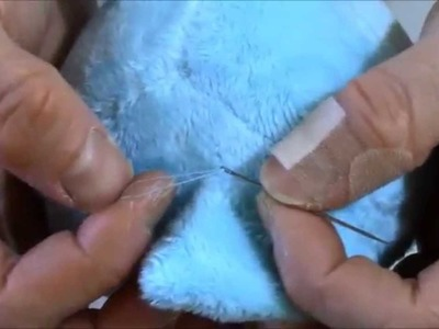 Pony Sewing Tutorial 5: Hand Sewing (Part 1), Knots, Ears