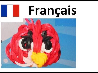Rainbow Loom Francais    Tuto Bracelet Elastique - Angry Birds   loom bands- animaux elastique