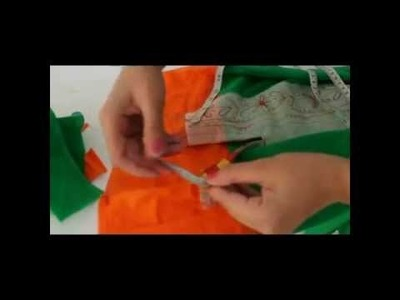 Sewing kurti - making chinese collar