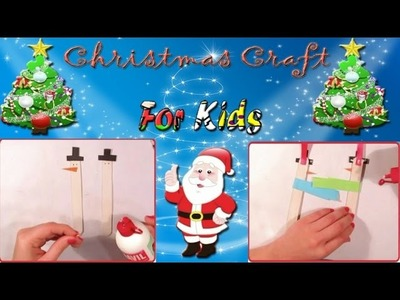 Simple Kids Idea for Christmas for decorating the Christmas Tree - Preschool Simple Christmas Crafts