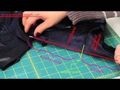 The Beginner's Guide to Sewing (Episode 16) Letting Out and Taking In Side Seams (Part 1)