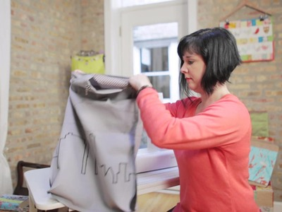 Tote bag sewing tutorial: how to complete the bag (8.9)