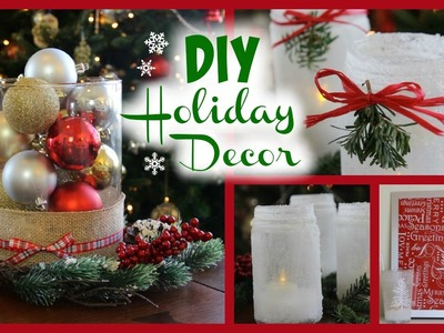 3 Easy DIY Holiday Decor Ideas | #HappyHoliDIYs