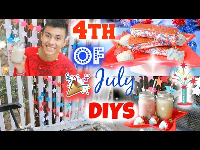 4th Of July DIY Party & Picnic Ideas