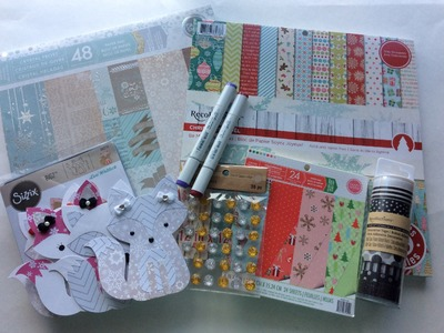 Christmas Crafty Scrapbooking Haul from Michaels