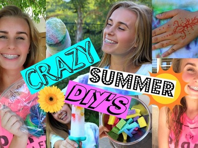 CRAZY SUMMER DIY'S YOU MUST TRY! (Tumblr.Pinterest Inspired)