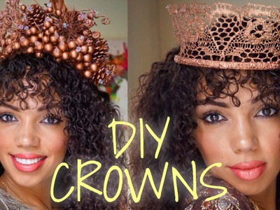 DIY CROWNS : HOW TO MAKE YOUR OWN CROWN OR HEADPIECE FOR FESTIVE OCCASIONS