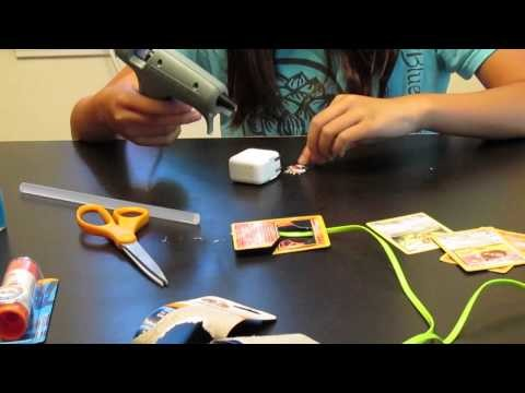 DIY Decorating Phone Charger Cords and Blocks