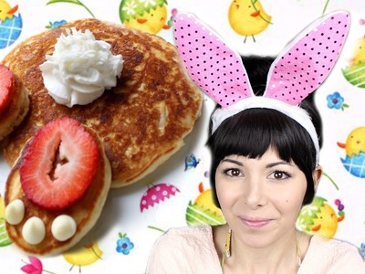 DIY EASTER PANCAKES ❤ Bunnies,Eggs and Chicks #KAWAII !!