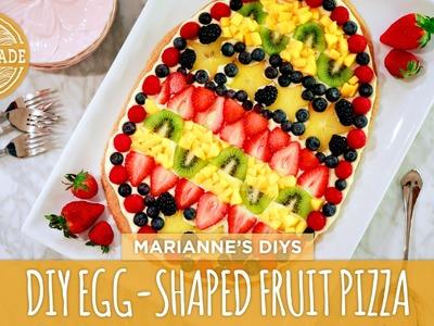 DIY Egg-Shaped Fruit Pizza- HGTV Handmade