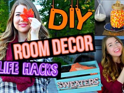 DIY Fall Room Decor & Organization, Life Hacks, and Outfit Inspiration