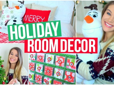 DIY Holiday Room Decor!