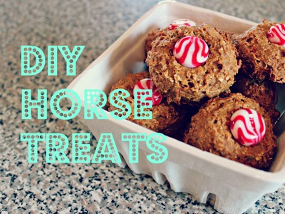 DIY | HORSE TREATS