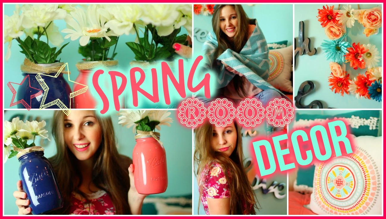 DIY Spring Room Decor! Easy & Inexpensive Ideas ✿