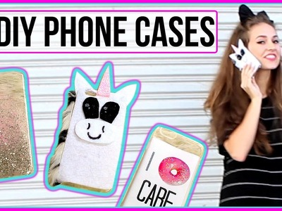 DIY Tumblr Inspired Phone Cases with Courtney Randall!
