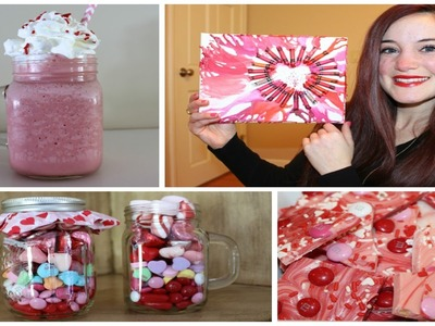 DIY VALENTINES DAY TREATS & DECOR
