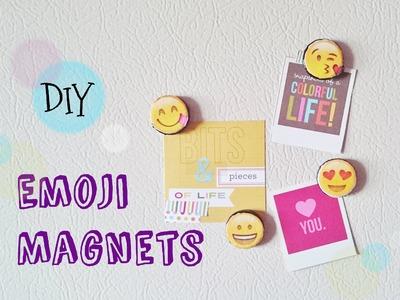 Emoji Magnets DIY- Back to School