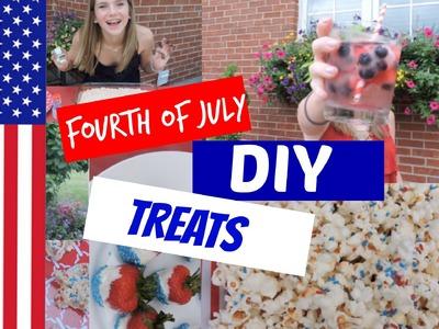 Fourth of July DIY Treats!