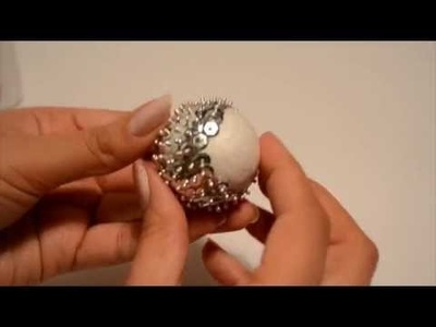 How to make: A Christmas Sequin Bauble