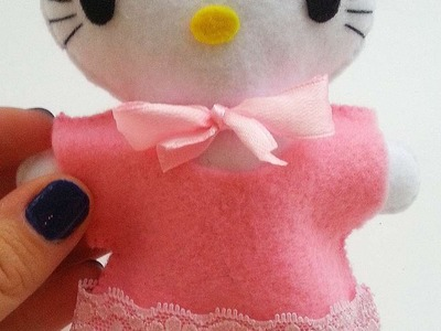 How To Make A Felt Hello Kitty - DIY Crafts Tutorial - Guidecentral