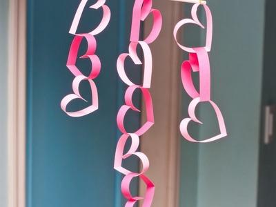 Make an Easy Valentine Door Decoration - DIY Home - Guidecentral