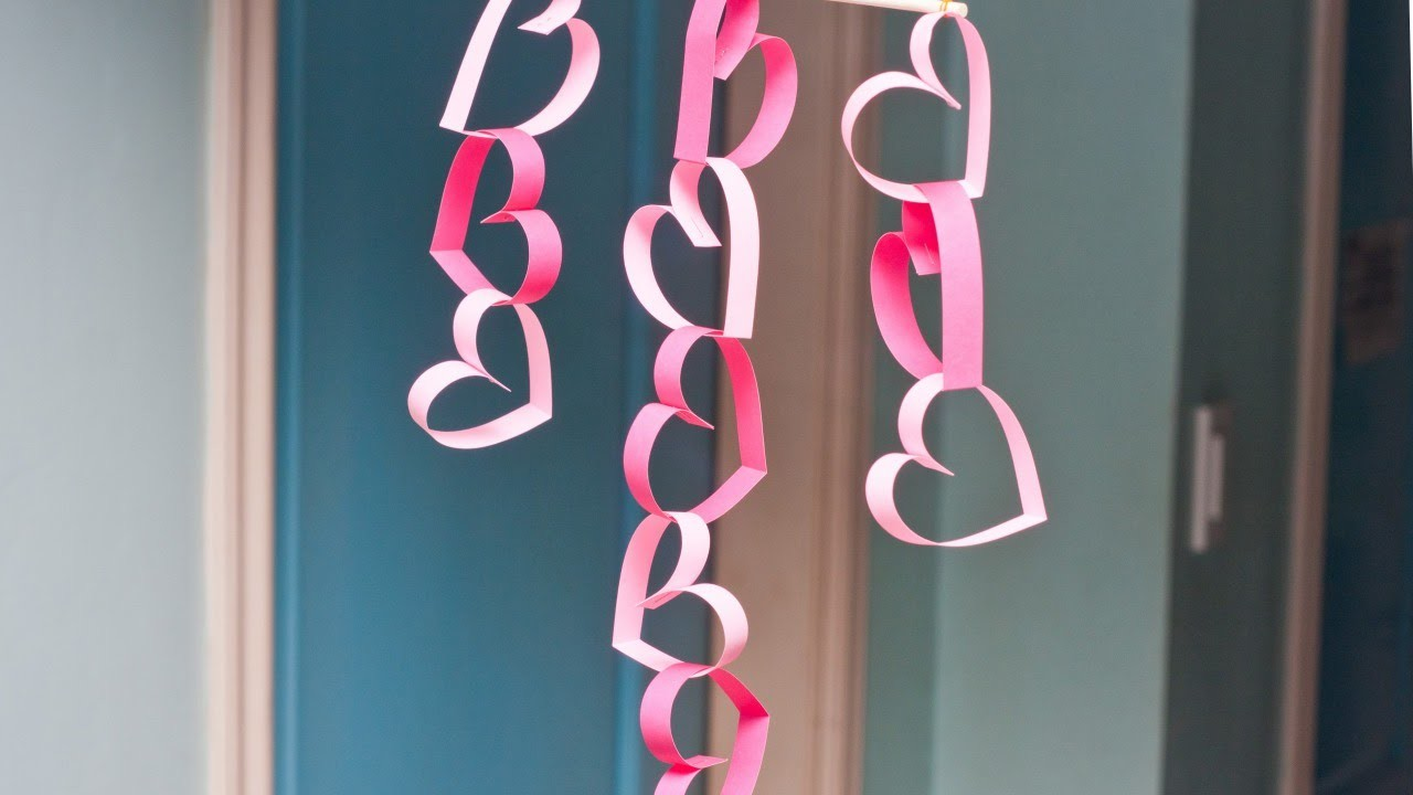 Make an Easy Valentine Door Decoration - DIY Home - Guidecentral