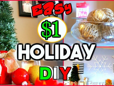MUST TRY DOLLAR TREE DIY'S | EASY HOLIDAY HOME & ROOM DECOR | Sensational Finds