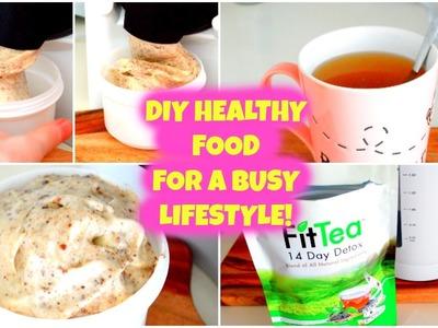 QUICK & EASY DIY HEALTHY FOOD IDEAS! | Food Diary!