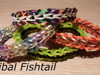 Rainbow Loom Tribal Fishtail Tutorial (german version)