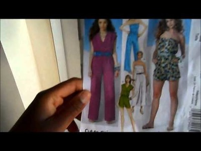 Sew- Along| DIY floor length Jumpsuit| M6083 view E| Sewing the Top & Pants together pt  4
