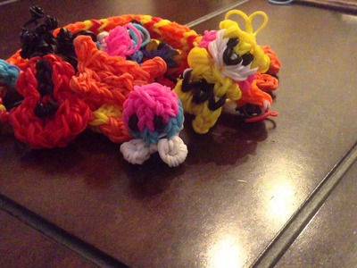 All my rainbow loom animals and accessories