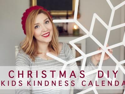 Christmas DIY & Kids Kindness Calendar