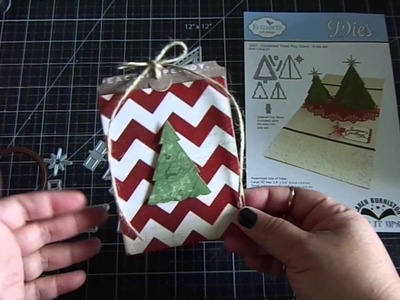 Christmas Tree Pop Stand Tag