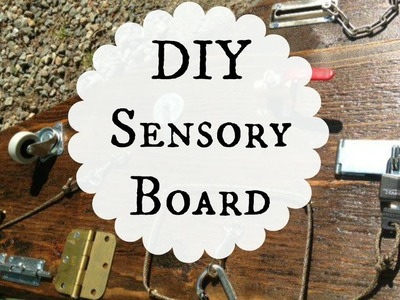 DIY Busy Board for Babies and Toddlers