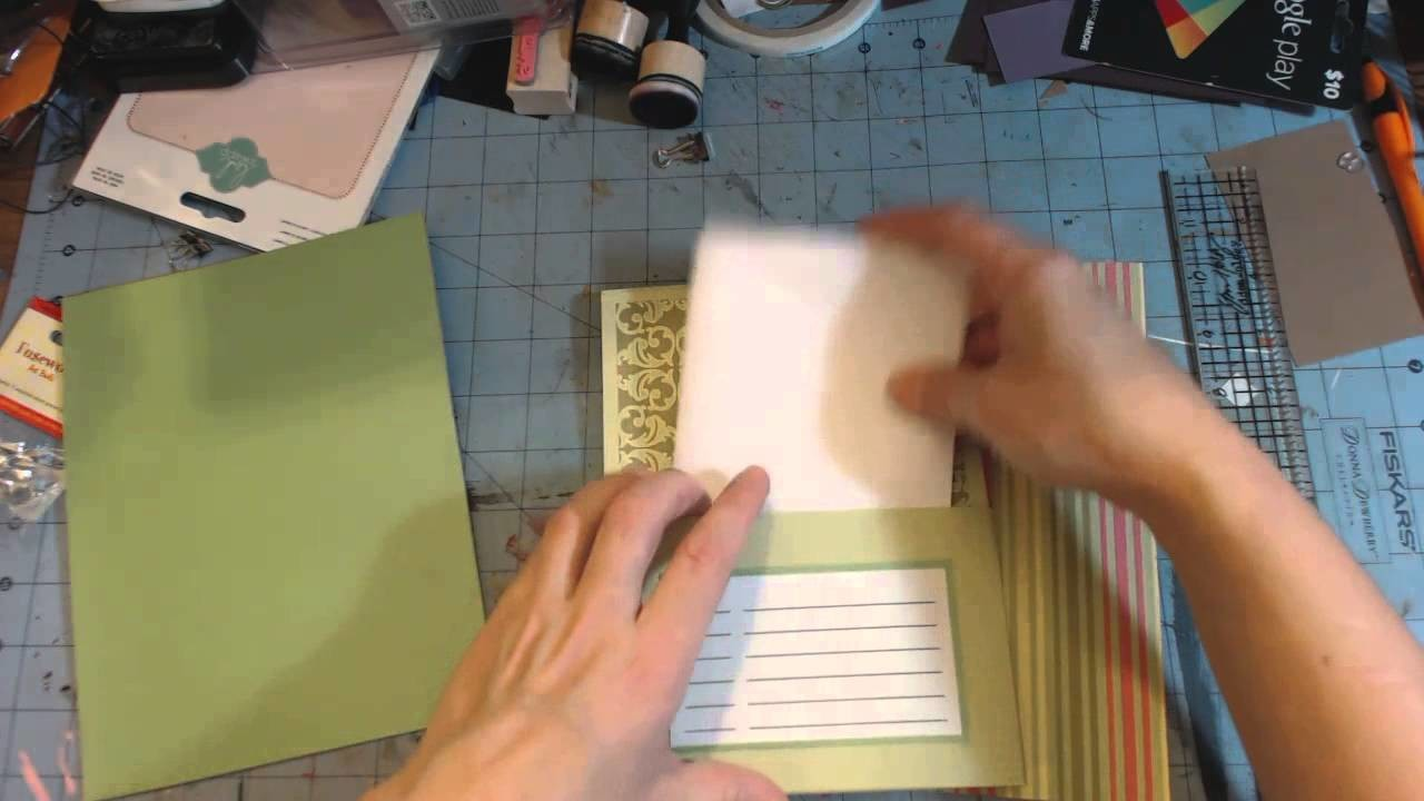 Diy Christmas #4 - Card organizer book