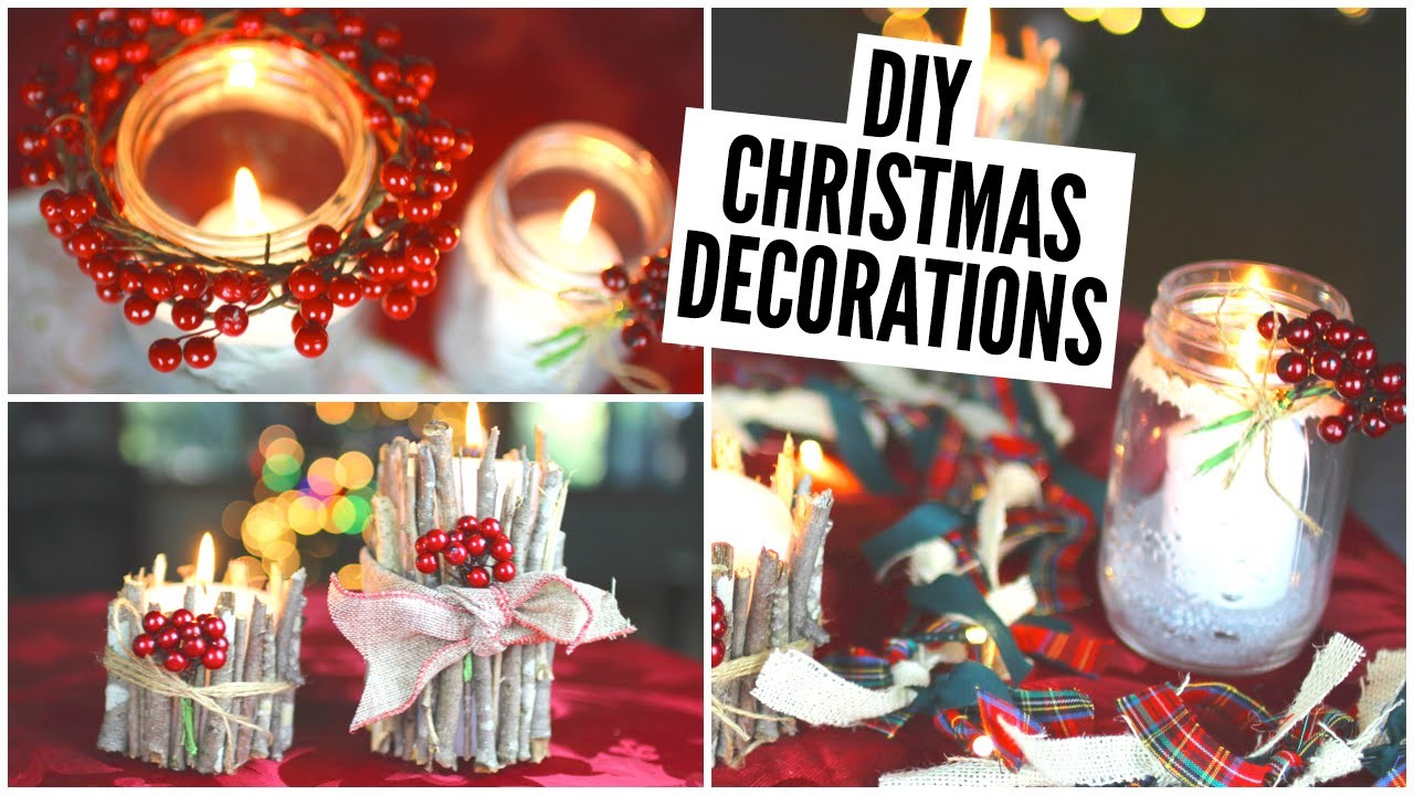 DIY Christmas Decorations || Easy & Affordable!