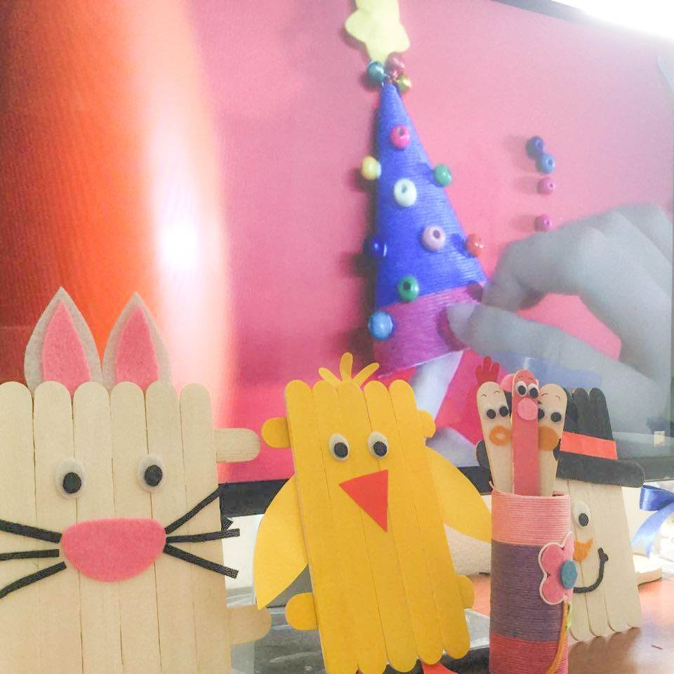 DIY - Easy Make Popsicle Stick Easter Bunny - Craft Ideas For Kids