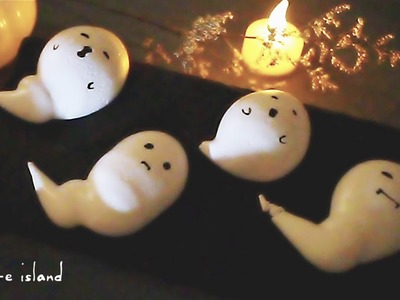 DIY Halloween Cute Meringue Ghosts | d for delicious