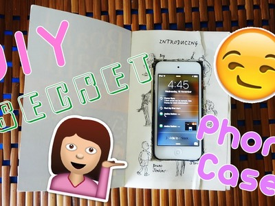 DIY SECRET PHONE CASE!   Kylee Fleek