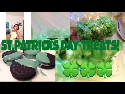 DIY- St.Patricks day treats!