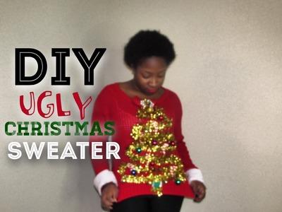 DIY Ugly Christmas Sweater 2014