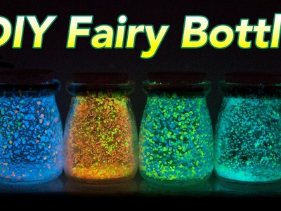 DIYbama - DIY Fairy Bottle (Glow Bottle)