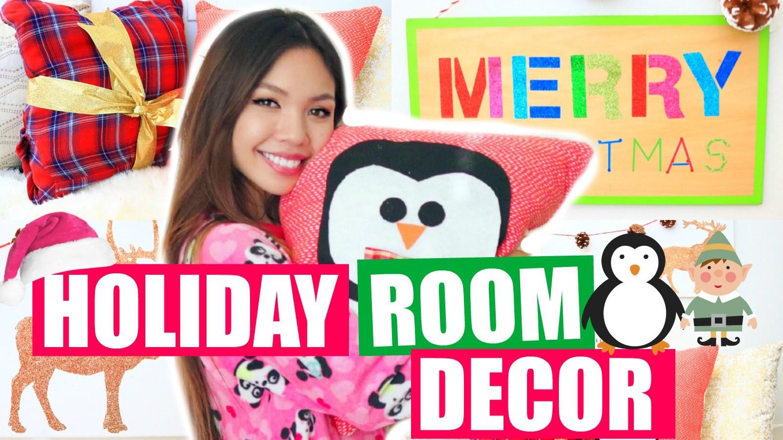 Easy DIY Holiday Room Decor Ideas! | CHRISTMAS 2015