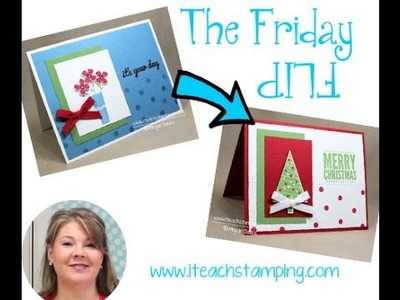 Friday Flip Making a Christmas Card in Minutes