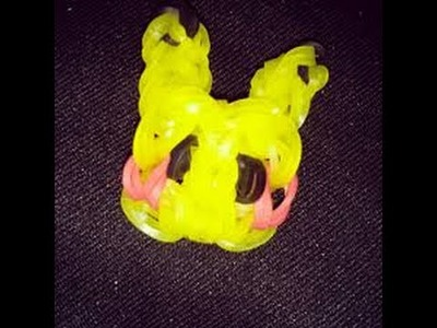 How to make a pikachu charm on the rainbow loom