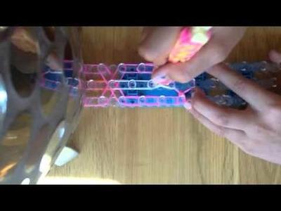 How to make an owl bracelet on the rainbow loom