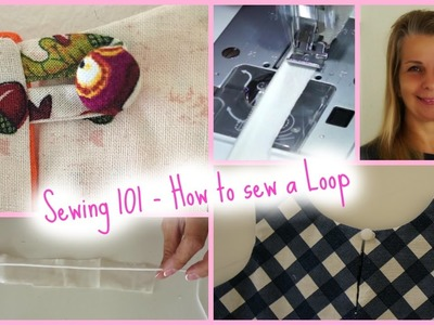 How to sew a Rouleaux Loop - Sewing Workshop